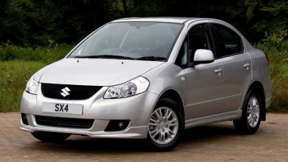 2009 Suzuki SX4 sedan - UK version 7