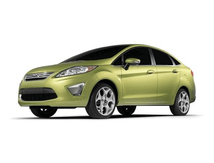2010 Ford Fiesta sedan - USA version 1