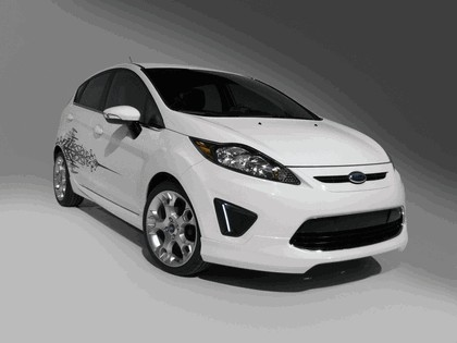 2010 Ford Fiesta by Custom Accessories - USA version 1