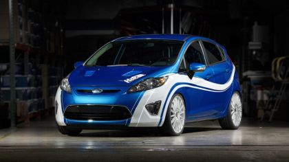 2010 Ford Fiesta by H&R - USA version 2