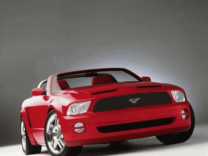 2004 Ford Mustang convertible concept 4
