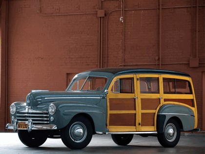 1948 Ford Super Deluxe Station Wagon 1