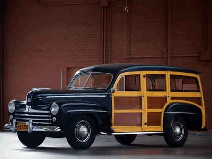 1948 Ford Super Deluxe Station Wagon 2