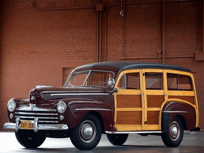 1948 Ford Super Deluxe Station Wagon 3