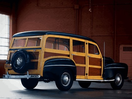 1948 Ford Super Deluxe Station Wagon 5