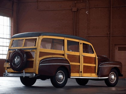 1948 Ford Super Deluxe Station Wagon 6