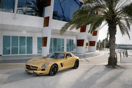 2010 Mercedes-Benz SLS Desert Gold 1