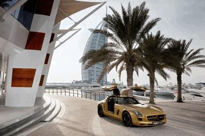 2010 Mercedes-Benz SLS Desert Gold 2