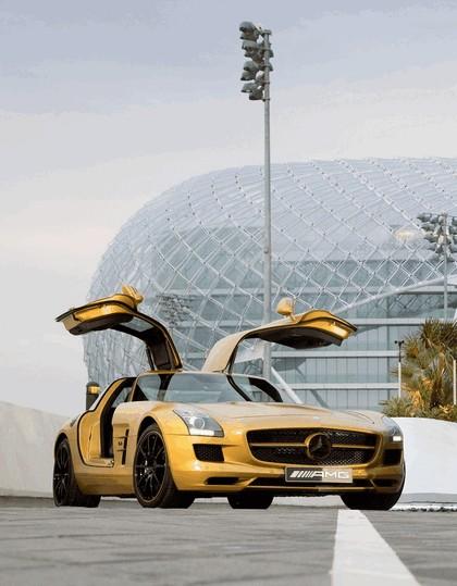 2010 Mercedes-Benz SLS Desert Gold 5