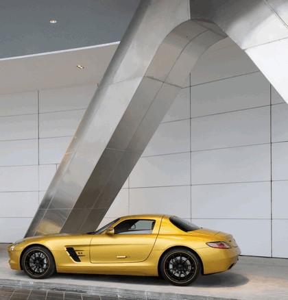2010 Mercedes-Benz SLS Desert Gold 6