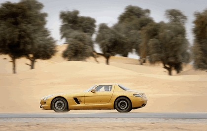 2010 Mercedes-Benz SLS Desert Gold 7