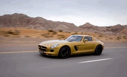 2010 Mercedes-Benz SLS Desert Gold 8