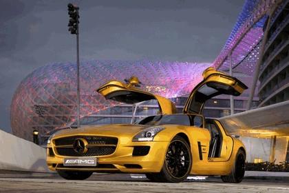 2010 Mercedes-Benz SLS Desert Gold 10