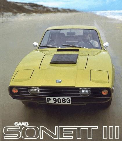 1974 Saab Sonett III 21