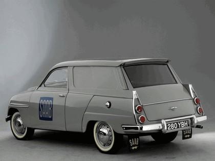 1962 Saab 95 Van 2