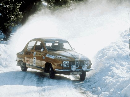 1969 Saab 96 rally car 1