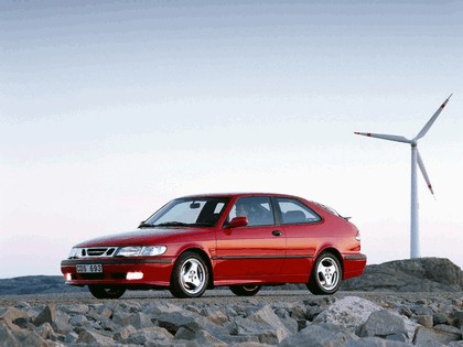 1999 Saab 9-3 Aero coupé 8