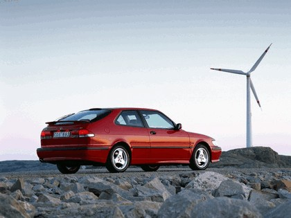 1999 Saab 9-3 Aero coupé 9