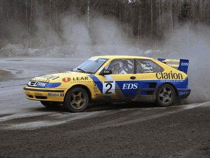 1999 Saab 9-3 Turbo Rallycross 2