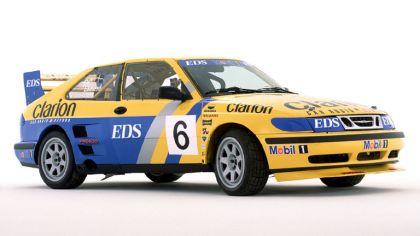 1999 Saab 9-3 Turbo Rallycross 9