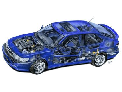 1999 Saab 9-3 Viggen coupé 8