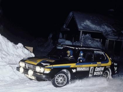 1978 Saab 99 Turbo rally car 1