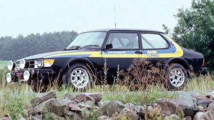 1978 Saab 99 Turbo rally car 1
