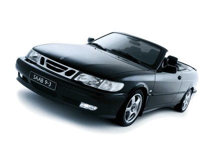 1998 Saab 9-3 convertible 3