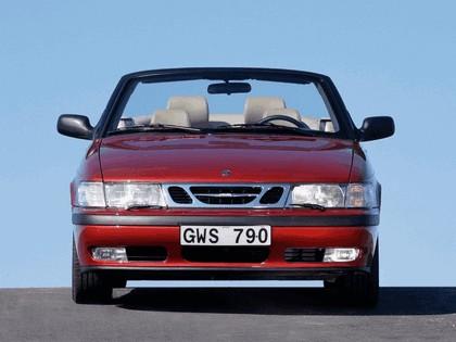 1998 Saab 9-3 convertible 7