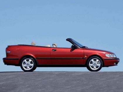1998 Saab 9-3 convertible 8
