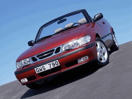 1998 Saab 9-3 convertible 10