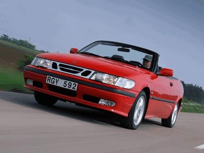 1998 Saab 9-3 convertible 12