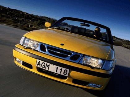 1998 Saab 9-3 convertible 33