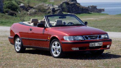 1998 Saab 9-3 convertible 9