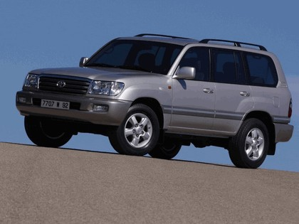 1998 Toyota Land Cruiser 100 1