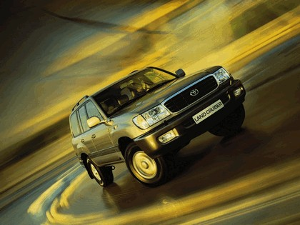 1998 Toyota Land Cruiser 100 25