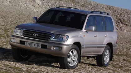1998 Toyota Land Cruiser 100 8