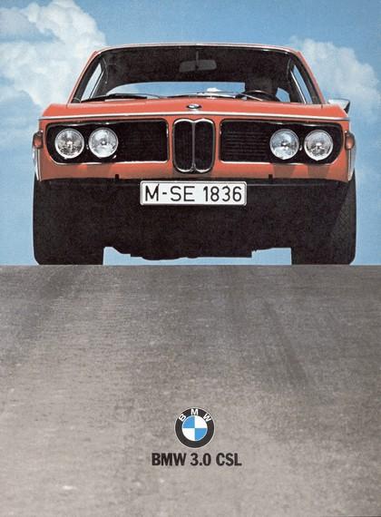 1971 BMW 3.0 CSL ( E09 ) 1