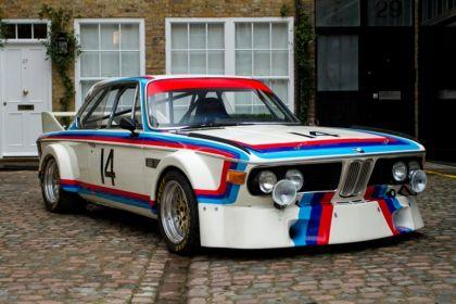 1971 BMW 3.0 CSL ( E09 ) race version 7