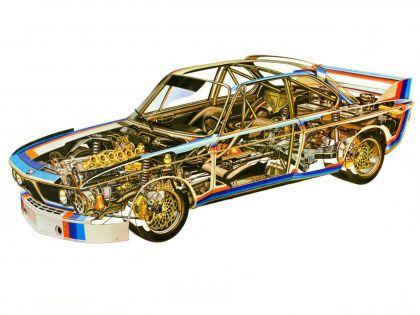 1971 BMW 3.0 CSL ( E09 ) race version 22
