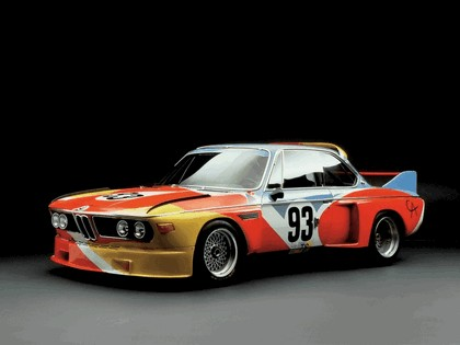 1975 BMW 3.0 CSL ( E09 ) Group 2 Art Car by Alexander Calder 1
