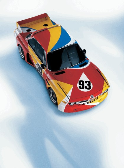 1975 BMW 3.0 CSL ( E09 ) Group 2 Art Car by Alexander Calder 2