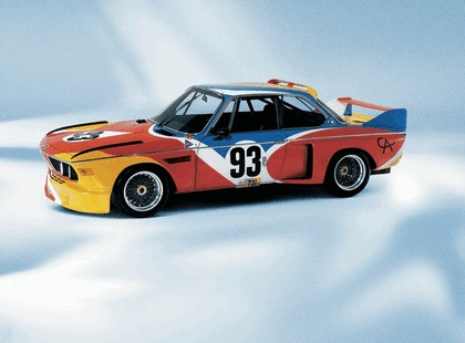 1975 BMW 3.0 CSL ( E09 ) Group 2 Art Car by Alexander Calder 3