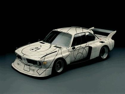 1976 BMW 3.0 CSL ( E09 ) Group 2 Art Car by Frank Stella 1
