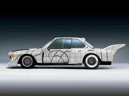 1976 BMW 3.0 CSL ( E09 ) Group 2 Art Car by Frank Stella 2