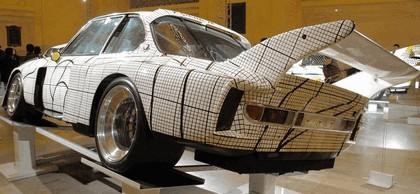 1976 BMW 3.0 CSL ( E09 ) Group 2 Art Car by Frank Stella 6