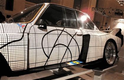 1976 BMW 3.0 CSL ( E09 ) Group 2 Art Car by Frank Stella 7