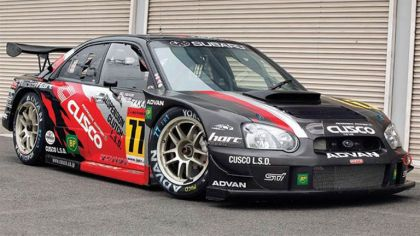 2003 Subaru Impreza Sti Gt300 by Cusco ( Black Sheep ) 1