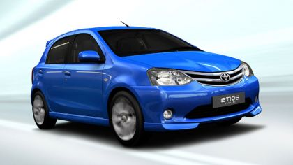 2010 Toyota Etios hatchback concept 4