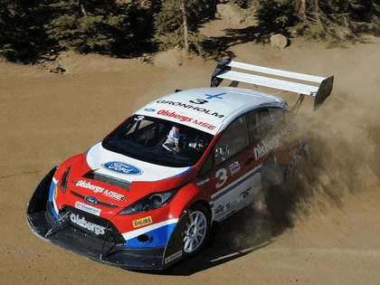 2009 Ford Fiesta Rallycross Pikes Peak 3